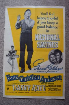 Hans Christian Andersen (1952) Danny Kaye National Savings - Double Crown